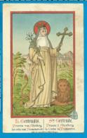 Holycard    St. Gertrudis V. Altenberg - Images Religieuses