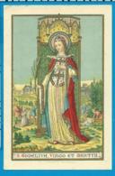 Holycard    B. Godelieva  Litanie - Images Religieuses