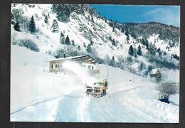 Cpm 8819668 Le Valtin Une Turbine En Action (chasse Neige) - France