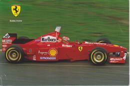 FERRARI F1 : EDDIE IRVINE - Grand Prix / F1