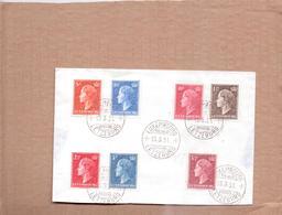 Schöner BRIEF - LUXEMBURG - Poststempel   LUXEMBURG -  Gelaufen 1951 - Luxemburgo