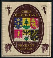 Rare // Etiquette De Vin // Tir // Fendant, Cible De Montana - Etiquettes