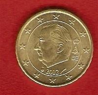 Belgique 2012 - 10 Cents - Albert II - Belgique