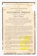 DP Victorine Nollet ° Wervik 1857 † St.-Jan Ieper 1936 X Henri Vergote - Imágenes Religiosas