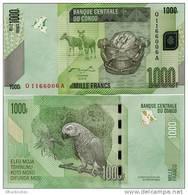 CONGO       1000 Francs       P-101a       2.2.2005 (2012)       UNC - Congo