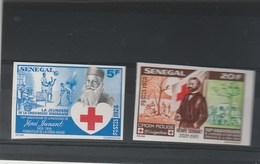 Sénégal NON DENTELE Yvert  503 Et 504   **  Croix Rouge Henri Dunant - Sénégal (1960-...)