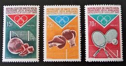 JEUX AFRICAINS DE BRAZZAVILE 1965 - NEUFS ** - YT 143/45 - MI 167/69 - Obervolta (1958-1984)