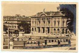 GENÈVE Le Theâtre Strassenbahn Tram - GE Genève