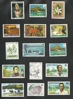 POLYNESIE   = 15 TIMBRES  POSTE - Polynésie Française