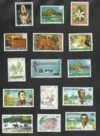 POLYNESIE   = 15 TIMBRES  POSTE - Collezioni & Lotti