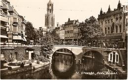 Utrecht, Oude Gracht Met Hema & Peek & Kloppenburg 1946 - Utrecht