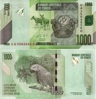 CONGO       1000 Francs       P-101b       30.6.2013 (2014)       UNC - Congo