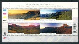 South Africa 2008 Drakensberg Park Sheetlet MNH (SG 1681-1684) - South Africa (1961-...)