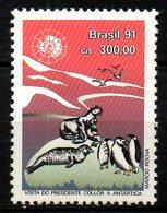BRESIL. N°2007 De 1991. Faune Antarctique. - Antarctic Wildlife