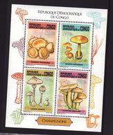 Congo Kinshasa 2013, S/s Mushrooms, MNH - Dem. Republik Kongo (1997 - ...)