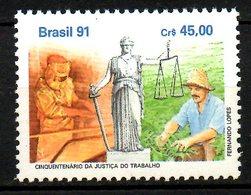 BRESIL. N°2029 De 1991. Paysan. - Agriculture