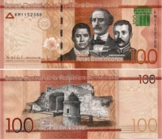 DOMINICAN REP.       100 Pesos Dominicanos      P-New       2017      UNC - Repubblica Dominicana