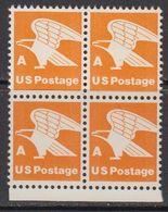 USA 1978 Eagle A 1v Bl Of 4 (+margin) ** Mnh (41803D) - Verenigde Staten