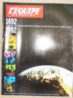 L'EQUIPE MAGAZINE N° 561 10 Octobre 1992 1492-1992 Cinq Siècles D'aventure Christophe Colomb  Jean Louis Etienne - Sport
