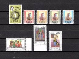 Bahrain   1979-92  .   Y&T  Nº   274-380-384-386/387-461/463 - Bahrain (1965-...)