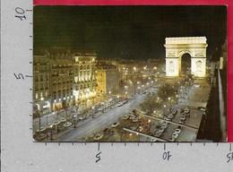 CARTOLINA NV FRANCIA - PARIS LA NUIT - Les Champs Elysees Et L'Arc De Triomphe Illumine - 10 X 15 - Champs-Elysées