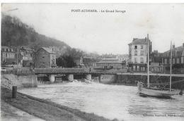 Pont Audemer. Le Grand Barrage à Pont Audemer. - Pont Audemer