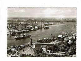 Cpsm HAMBOURG Hafen Und St Pauli Landungsbrucken Hans Andres - Allemagne