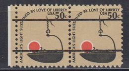 USA 1979 America's Light Precancelled 1v (pair) ** Mnh (41803E) - Verenigde Staten