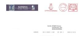 CITTA' DI SARSINA - Affrancature Meccaniche Rosse (EMA)