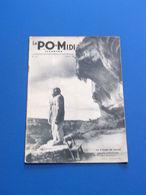 LES EYZIES DE TAYAC  L HOMME PREHISTORIQUE HOMO MOUSTERIENSIS COUVERTURE PO MIDI 1934 - Archéologie