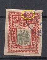 Estland Estonie Estonia 1920 Michel 21 E: 11 ERROR Abart Variety O - Estonie