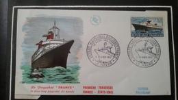 1°  Jour.d'émission..FDC ..MONACO .. 1962  LE PAQUEBOT  FRANCE - Joint Issues