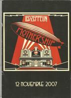 Publicité Pour Revendeur, Musique , 2007, LED EPPELIN ,MOTHERSHIP , 12 Pages Dont 4 Pages=poster, Frais Fr 2.45 E - Publicités