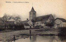 DPT 27 DOUAINS Façade Postérieure De L'Eglise - Altri Comuni