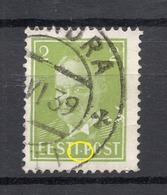 ESTLAND Estonia 1936 Michel 114 E: 4 ERROR Abart Variety O - Estonie