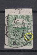 Estland Estonia 1921 Michel 31 E: 9 ERROR Abart Variety O - Estonie