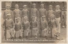 38--GRENOBLE--ESPERANCE GYMNASTIQUE-LES FUSILIERS MARINS--VOIR SCANNER - Grenoble