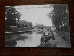 Digoin. Le Canal Du Centre Et Le Pont Des Fainéants - Digoin