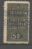 ALGERIE COLIS POSTAUX N° 16 NEUF** SANS CHARNIERE  / MNH - Algérie (1924-1962)