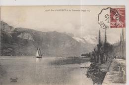 CPA-74-Haute Savoie- Lac D'Annecy Et La Tournette- - Annecy