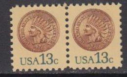 USA 1977 Coin (Indian) 1v (pair) ** Mnh (41803G) - Verenigde Staten