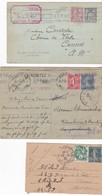 France,Paris - 6 Entiers Complétés De 1922 à 1943 - 1921-1960: Période Moderne
