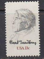 USA 1978 Carl Sandburg 1v ** Mnh (41803H) - Verenigde Staten