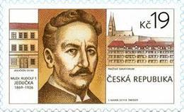 Czech Republic - 2019 - Personalities - Rudolf Tomáš Jedlička, Czech Doctor - Mint Stamp - Tchéquie