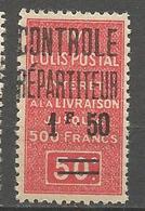 ALGERIE COLIS POSTAUX N° 24 NEUF** SANS CHARNIERE  / MNH - Algérie (1924-1962)