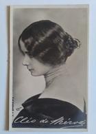 CPA ARTISTE FEMME - CLEO DE MERODE - Photographie Portrait De Profil Autographe Dans La Photographie Reutlinger - Artistes