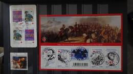 Bel Ensemble De Courriers, Blocs Et Timbres Croix Rouges Oblitérés De France Dont 1 N° 306 ** (1 Dent Un Peu Courte) !!! - Stamps