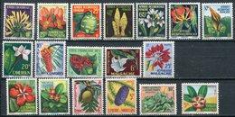 1958- GRANDES SERIES- FLEURS-FLOWERS -M.N.H.  - 18 VAL.LUXE !! - France (former Colonies & Protectorates)
