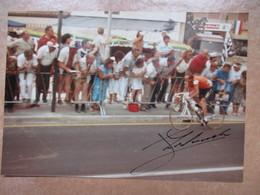 Cyclisme Autographe Zoetemelk Sur Photo - Autogramme & Autographen