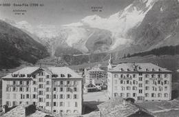 SAAS-FEE → Grand Hotel Saas-Fee & Belle Vue Anno 1912 - VS Valais